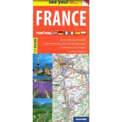 Francja. Mapa drogowa