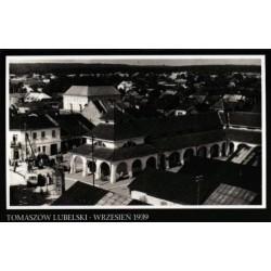 Tomaszów Lubelski. Wrzesień 1939 - 8 pocztówek