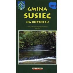 Gmina Susiec na Roztoczu 1:50 000