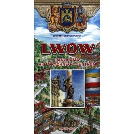Lwów. Panorama historycznego centrum