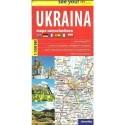 Ukraina mapa samochodowa 1:1 000 000