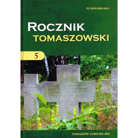 Rocznik Tomaszowski tom 5