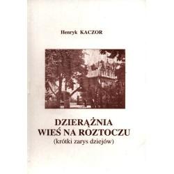 Dzierążnia - wieś na Roztoczu