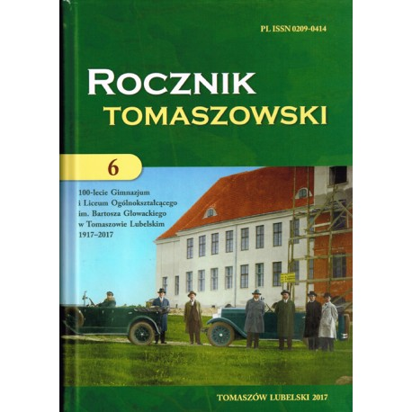 Rocznik Tomaszowski tom 6