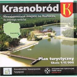 Krasnobród - Plan miasta