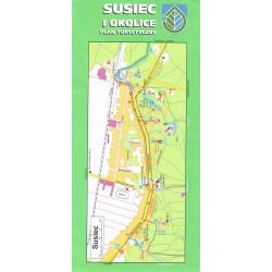 Susiec i okolice - Plan Turystyczny 1:20 000