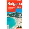 Bułgaria mapa samochodowa