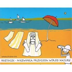 Magnes Roztocze rysunkowy 4 plaża