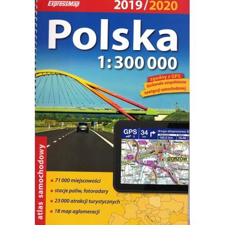 Polska atlas samochodowy 1:300 000