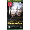 Miasto i gmina Cieszanów. Mapa turystyczna
