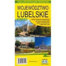 Województwo lubelskie. Mapa administracyjno-turystyczna 1:300 000