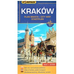 Kraków plan miasta