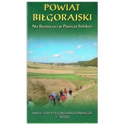 Powiat biłgorajski 1:100 000