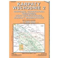 Karpaty Wschodnie 2 1:300 000