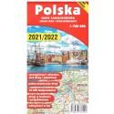 Polska mapa samochodowa 1:700 000