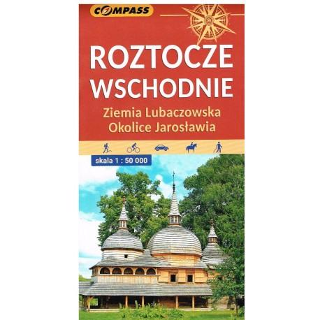 Roztocze Wschodnie Ziemia Lubaczowska okolice Jarosławia 1:50 000