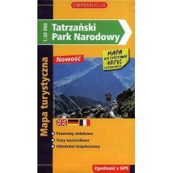 Tatrzański Park Narodowy 1:30 000