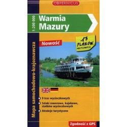 Warmia i Mazury 1:200 000