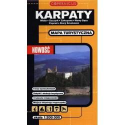 Karpaty (część zachodnia) 1:200 000