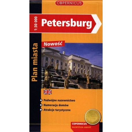 Petersburg. Plan miasta