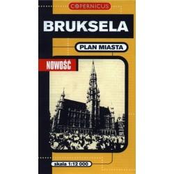 Bruksela. Plan miasta