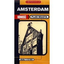 Amsterdam. Plan miasta