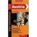 Austria. Mapa samochodowa 1:500 000