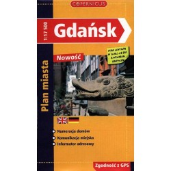 Gdańsk. Plan miasta