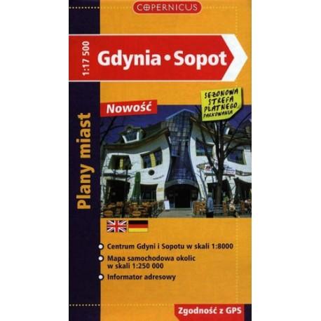 Gdynia - Sopot. Plan miasta