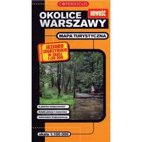 Okolice Warszawy 1:100 000