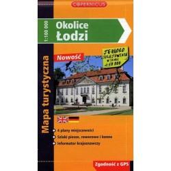 Okolice Łodzi 1:100 000