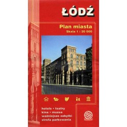 Łódź. Plan miasta