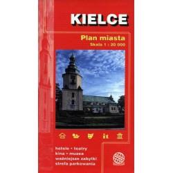 Kielce. Plan miasta