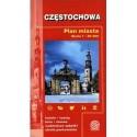 Częstochowa. Plan miasta
