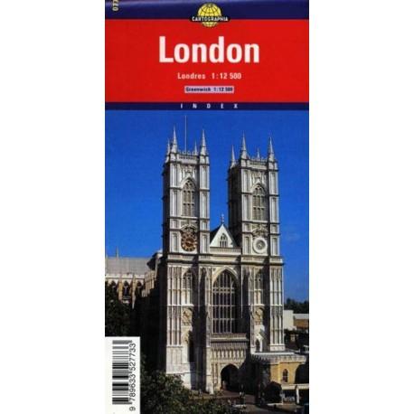 Londyn. Plan miasta