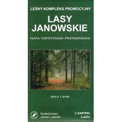 Lasy Janowskie - Leśny kompleks promocyjny 1:50 000