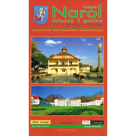 Narol. Miasto i gmina 1:50 000