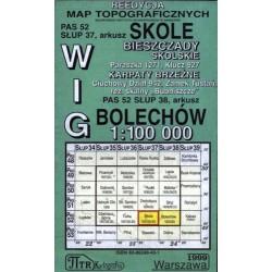 Skole / Bolechów. Reedycja map topograficznych WIG 1:100 000