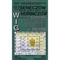 Seneczów / Horniczów. Reedycja map topograficznych WIG 1:100 000