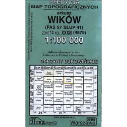 Wików. Reedycja map topograficznych 1:100 000