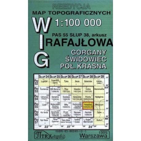 Rafajłowa. Reedycja map topograficznych WIG 1:100 000