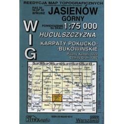 Jasieniów Górny. Reedycja map topograficznych WIG 1:75 000