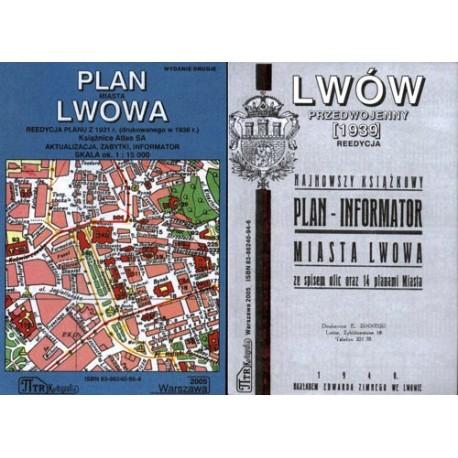 Lwów. Reedycja planów miasta z 1931 r. i 1939 r.