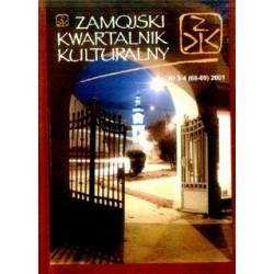 Zamojski Kwartalnik Kulturalny 2001 nr 3-4 (68-69)