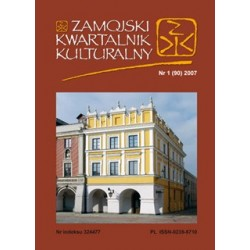 Zamojski Kwartalnik Kulturalny 2007 nr 1 (90)