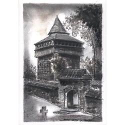Radruż - dzwonnica przy cerkwi p.w. św. Paraskewii