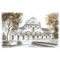 Zwierzyniec - barokowy kościół pw. św. Jana Nepomucena