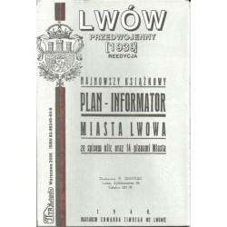 Lwów przedwojenny. Reedycja planu miasta z 1939 r
