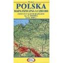 Polska. Mapa fizyczna 1:1 250 000